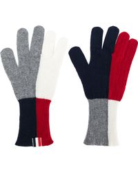Thom Browne Block Color Gloves - Multicolor