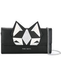 Frankie Morello - Silver Cat Bag - Lyst