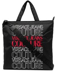 Versace Jeans Couture ロゴ トートバッグ - マルチカラー