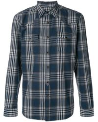 Hydrogen - Plaid Classic Shirt - Lyst