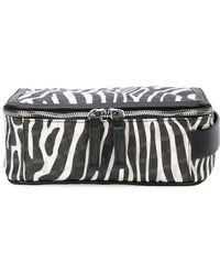 Pierre Hardy - Zebra Printed Dop Kit - Lyst