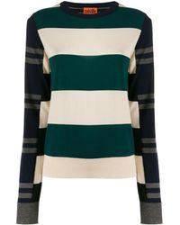 Colville Striped Color-block Jumper - Multicolour