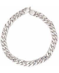 Tom Wood Curb 7 Chain Bracelet - Metallic