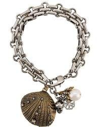 Alexander McQueen - Charm Bracelet - Lyst