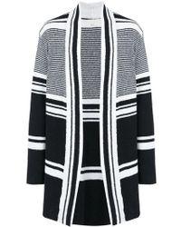 Osklen - Striped Knit Cardigan - Lyst