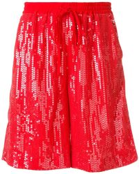 P.A.R.O.S.H. - Sequinned Shorts - Lyst