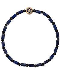 Luis Morais Trinity Enameled Bracelet - Blue