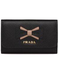 Prada - サフィアーノ キーケース - Lyst
