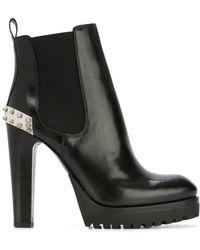 Alexander McQueen | Mod Boots | Lyst
