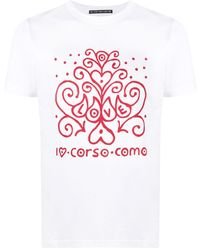 10 Corso Como ロゴ Tシャツ - ホワイト