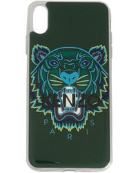 KENZO Tiger Iphone Xs Max Case - Green