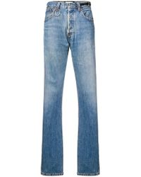 Night Market - High Rise Straight Jeans - Lyst