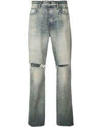 Amiri 'Thrasher' Jeans - Blau