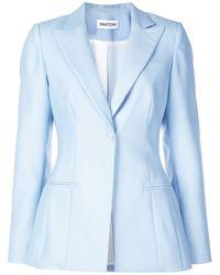 Partow Slim-fit Blazer - Blue
