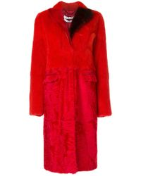Givenchy - Panelled Coat - Lyst