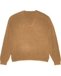 Apparis リブニット セーター - ブラウン
