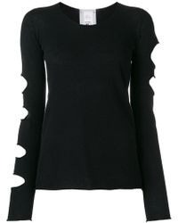 Lost and Found Rooms - Slit Sleeve Jumper - Lyst