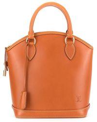 Louis Vuitton Bolso shopper Lockit - Marrón