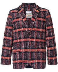 Coohem - Checked Tweed Jacket - Lyst