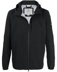 Woolrich ジップアップ ジャケット - ブラック