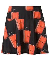 Amir Slama - Printed A-line Skirt - Lyst