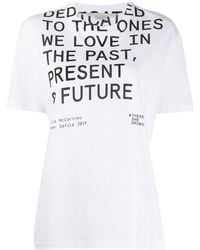 Stella McCartney There She Grows Tシャツ - ホワイト