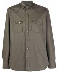 Lardini ポケット シャツ - グリーン