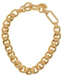 Bottega Veneta Gold-tone Necklace - Metallic