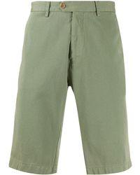 Etro Mid-rise Chino Shorts - Green
