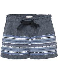 lemlem - Embroidered Details Shorts - Lyst