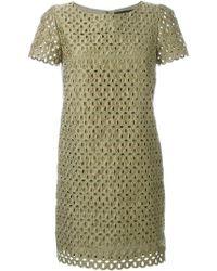 Marco Bologna - Lace Cut Out Dress - Lyst