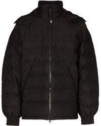 Y-3 フーデッド パデッドジャケット - ブラック