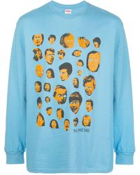 Supreme - Faces ロングtシャツ - Lyst