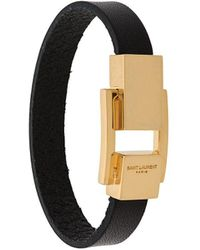 Saint Laurent Classic Bracelet - Black