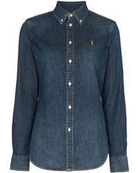 Polo Ralph Lauren Denim Shirt - Blauw