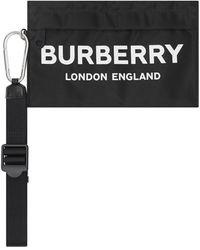 Burberry Buidel Met Logoprint - Zwart