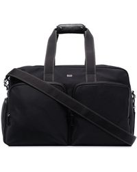 BOSS by Hugo Boss Logo-lettering Nylon Holdall - Black