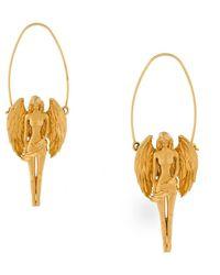Givenchy Virgo Zodiac Hoop Earrings - Multicolour