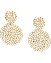 Gas Bijoux Chain Earrings - Metallic