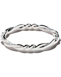 David Yurman - Continuance Centre Twist Bangle - Lyst