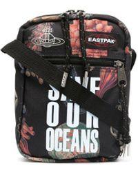 Eastpak X Vivienne Westwood 'Save our Oceans' Kuriertasche - Schwarz