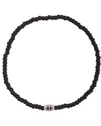 Luis Morais - Mini Cross Of Lorraine Barrel Bracelet - Lyst