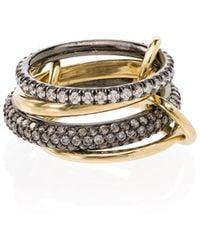 Spinelli Kilcollin 18kt Yellow Gold Vega Four-link Stacked Ring - Metallic