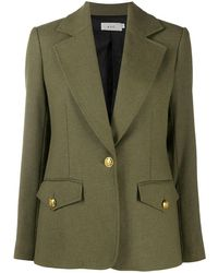 A.L.C. Single-breasted Blazer - Green