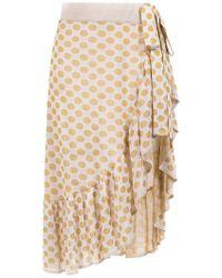 Cecilia Prado - Chanel Asymmetric Skirt - Lyst