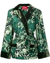 F.R.S For Restless Sleepers - Floral Belted Jacket - Lyst