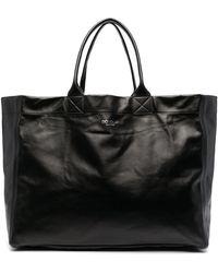 Dondup オーバーサイズ ハンドバッグ - ブラック