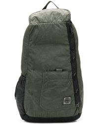 Stone Island - Logo Zipped Backpack - Lyst