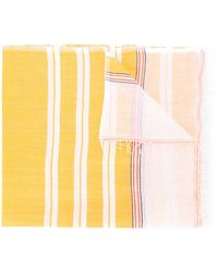 lemlem Striped Scarf - イエロー