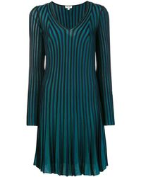 KENZO Long Sleeve Dress - Синий